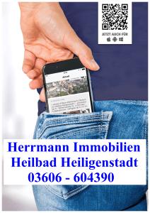 Schaukasten Herrmann Immobilien App - Poster